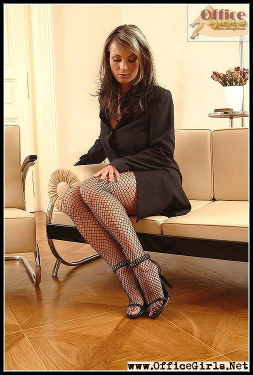 nasty pantyhose in office